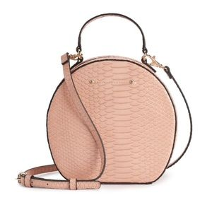 Blush Kate Circle Crossbody Bag